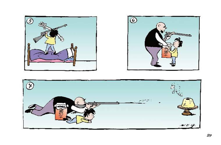 父与子漫画图片大全